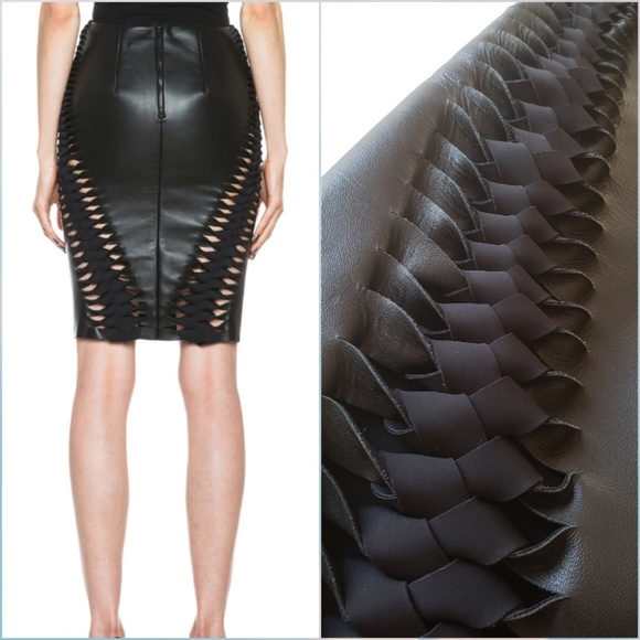 f50a07212f Dion Lee Skirts | Nwt 3d Filter Leather Skirt 4 | Poshmark